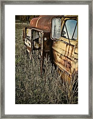 Framed Print featuring the photograph Fuel Oil Truck by Greg Jackson