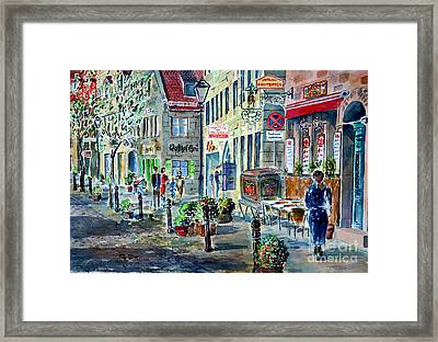 Fuerth Gustavstrasse II Framed Print