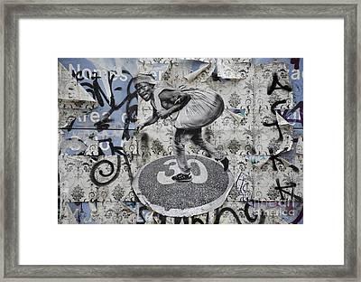 Fugitive Hard Sell Framed Print