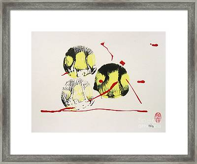 Fugu Ichi Framed Print by Roberto Prusso