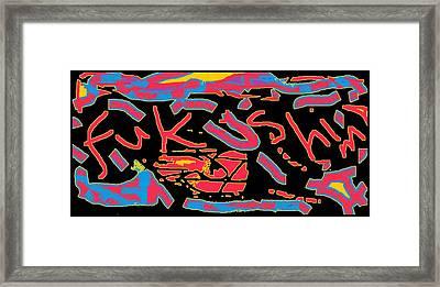 Fukushima Framed Print by Cletis Stump