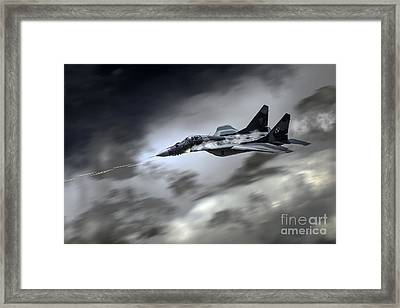 Fulcrum Assault Framed Print