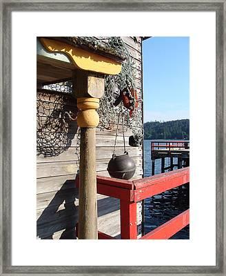 Fulford Harbour Framed Print