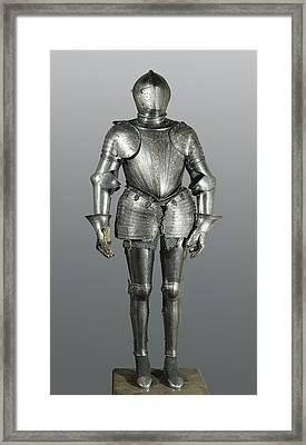 Full Armour. Made In Milan Framed Print by Everett