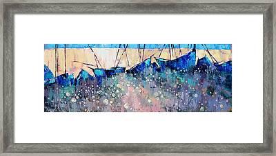 Full Calm Framed Print by Anastasija Kraineva