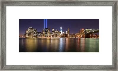 Full City View Framed Print