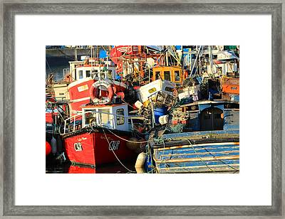 Full Harbour Framed Print