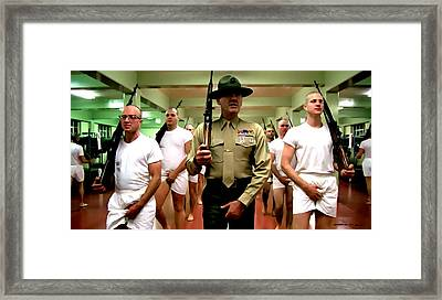 Full Metal Jacket 1 Stanley Kubrick 1979 Framed Print