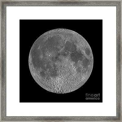 Full Moon 2 Framed Print by Jon Neidert