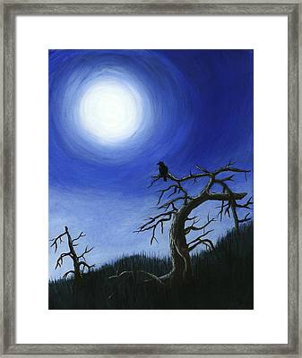 Full Moon Framed Print by Anastasiya Malakhova