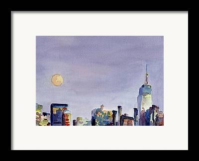 Skyline Framed Prints