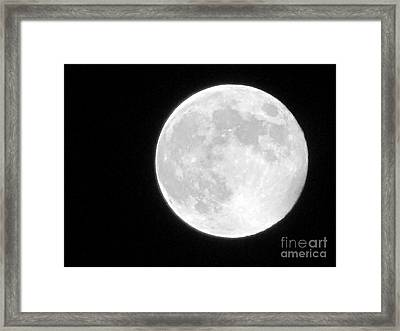 Full Moon Framed Print by Gayle Melges