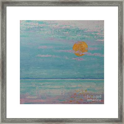 Full Moon In May Framed Print by Gail Kent