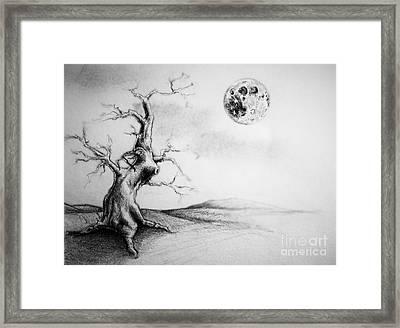 Full Moon Framed Print by Jeff  Blevins