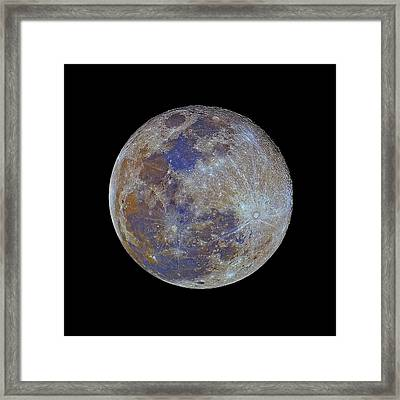 Full Moon Framed Print by Luis Argerich
