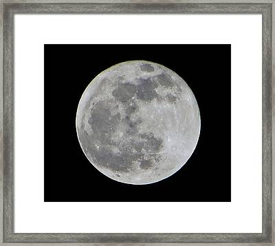 Full Moon Over Florida Framed Print by Tim Townsend