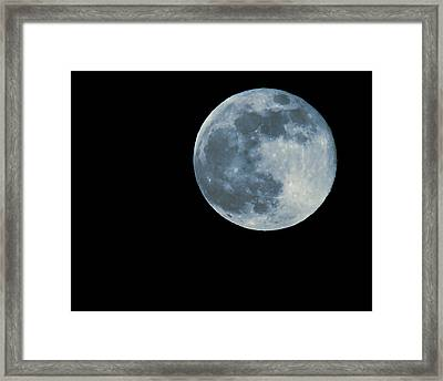 Full Moon Series Framed Print by Josh Whalen