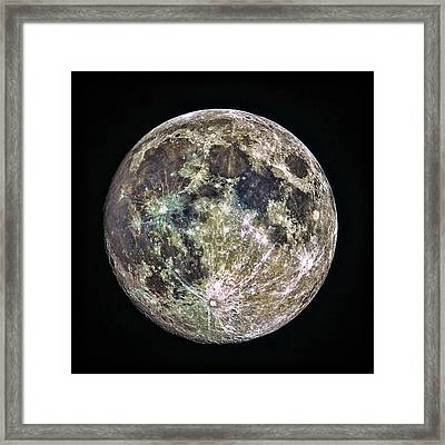 Full Moon Framed Print by Todd Ryburn