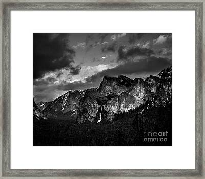 Full Moon View Framed Print