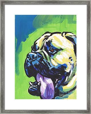Full Of Bull Framed Print by Lea S