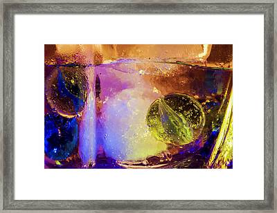 Frozen Games Framed Print