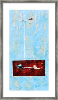 Full Of Wish Framed Print by Mary C Farrenkopf