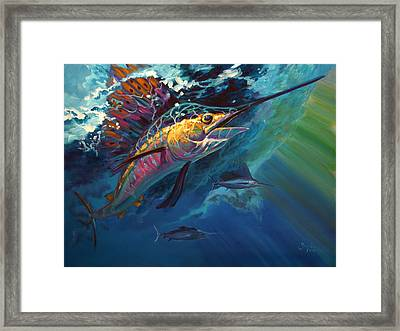 Full Sail Framed Print by Savlen Art