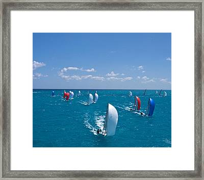 Full Sails Framed Print