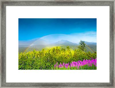 Full Spectrum Rainbow Framed Print