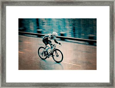 Framed Print featuring the photograph Full Speed Ahead by Ari Salmela