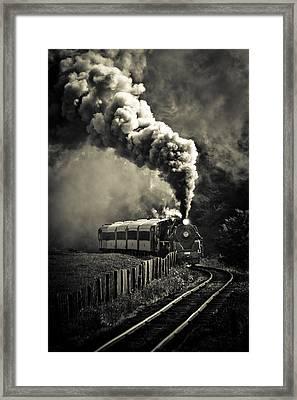 Full Steam Ahead Framed Print by Phil 'motography' Clark