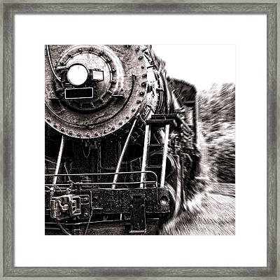 Full Steam Framed Print by Olivier Le Queinec