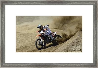 Full Throttle Framed Print by Bob Christopher
