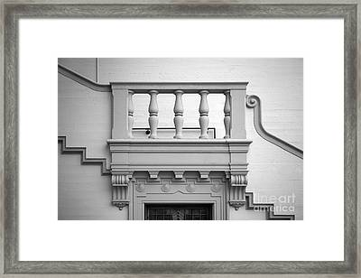Fullerton College Administration Building Stairway Framed Print