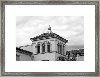 Fullerton College Administration Building Tower Framed Print