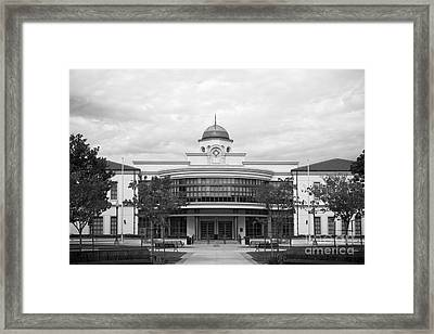 Fullerton College Library Framed Print by University Icons