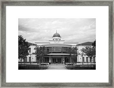 Fullerton College Library Framed Print