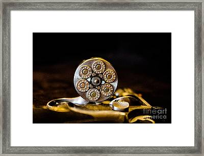 Framed Print featuring the photograph Fully Loaded by Deniece Platt