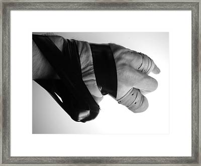 Fully Poseable V.1 Framed Print by Mojo THF