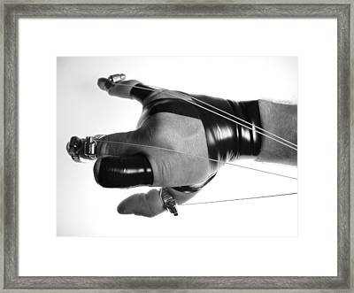 Fully Poseable V.2 Framed Print by Mojo THF