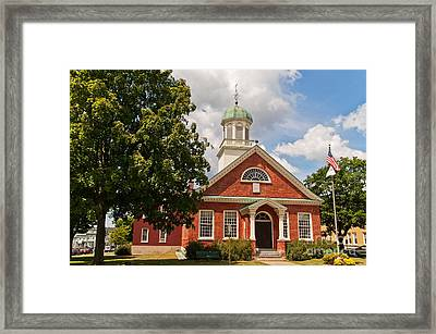 Framed Print featuring the photograph Fulton County Court House by Sue Smith