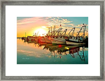 Fulton Harbor Framed Print
