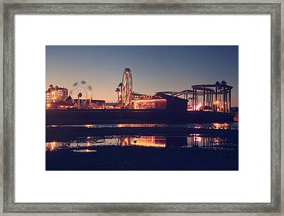 Fun And Games Framed Print by Laurie Search