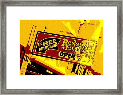 Fun Factory Framed Print