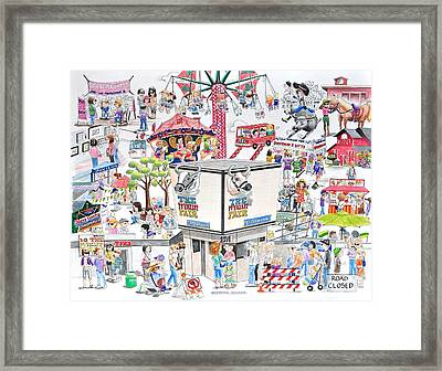 Fun Fair Framed Print