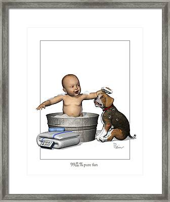 Fun For The Whole Family Framed Print