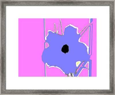 Fun Jack Flower Framed Print