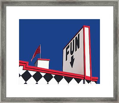 FUN Framed Print by Nikolyn McDonald