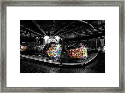 Fun Of The Fair Framed Print by Martin Newman