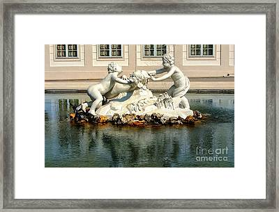 Framed Print featuring the photograph Fun On The Water by Mariola Bitner